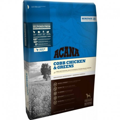 Acana Chicken&Greens 11.4kg + GRATIS