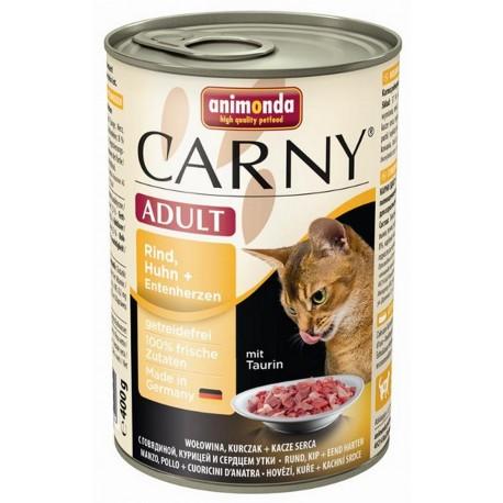 Animonda Carny Adult z wołowiną i drobiem 400g