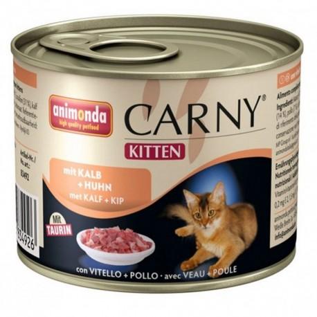 Animonda Carny Kitten z cielęciną i kurczakiem 200g