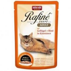 Animonda Rafine Soupe Adult drób, wołowina w sosie serowym 100g
