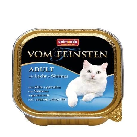 Animonda Vom Feinsten Adult łosoś i krewetki 100g