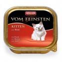Animonda Vom Feinsten dla kociąt wołowina 100g