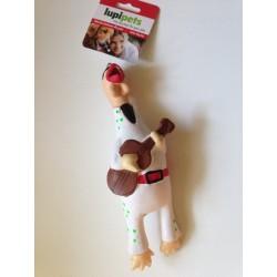 Lateksowy kurczak piszczący