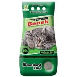 Super Benek Standard Line żwirek dla kotów zielony las 5/10l