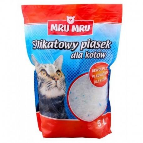 Mru Mru Silikonowy żwirek dla kotów 5l