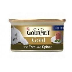 Purina Gourmet Gold kaczka i szpinak 85g