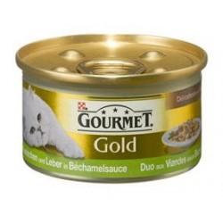 Purina Gourmet Gold królik i wątróbka 85g