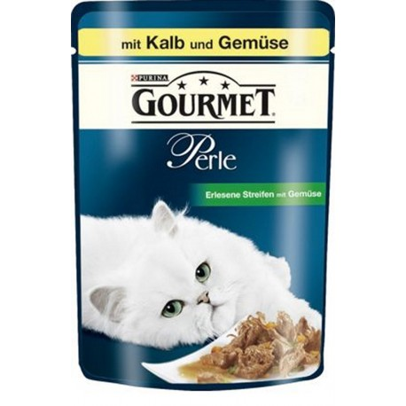 Purina Gourmet Perle cielęcina z warzywami 85g