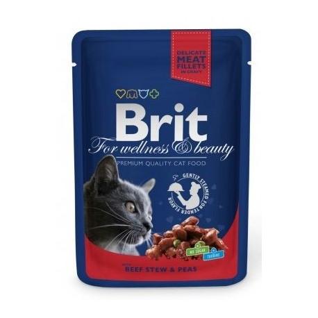 Brit For wellness and beauty wołowina z groszkiem 100g