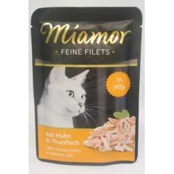 Miamor Feine Filets kurczak z tuńczykiem 100g