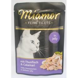 Miamor Feine Filets tuńczyk i kalmary 100g