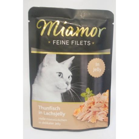 Miamor Feine Filets tuńczyk w galaretce łososiowej 100g
