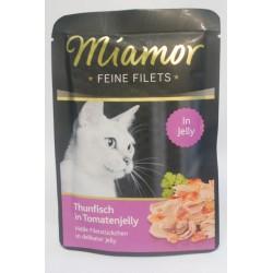 Miamor Feine Filets tuńczyk w galaretce pomidorowej 100g