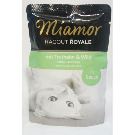 Miamor Ragout Royale indyk i dziczyzna 100g