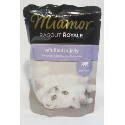 Miamor Ragout Royale z wołowiną dla młodych kotów 100g