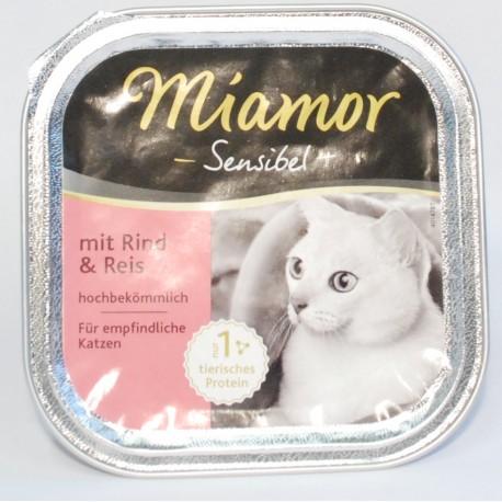 Miamor Sensibel kurczak z ryżem 100g