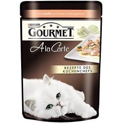 Purina Gourmet Ala Carte łosoś ze szpinakiem i warzywami 85g