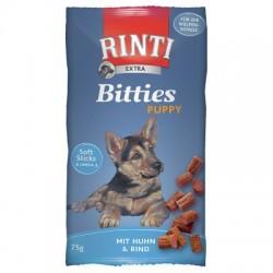 Rinti Extra Bitties Puppy - miękkie kosteczki z kurczaka i wołowiny 75g