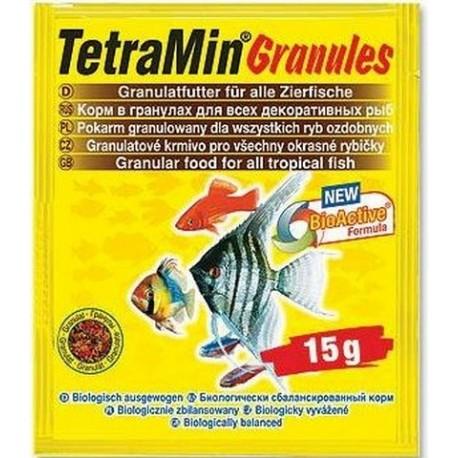 Tetra Min Granules pokarm dla ryb tropikalnych 15g