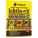 Tropical Ichtio Vit pokarm wieloskładnikowy dla ryb akwariowych 12g