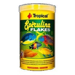 Tropical spirulina płatki dla ryb słodkowodnych i morskich 20g płatki