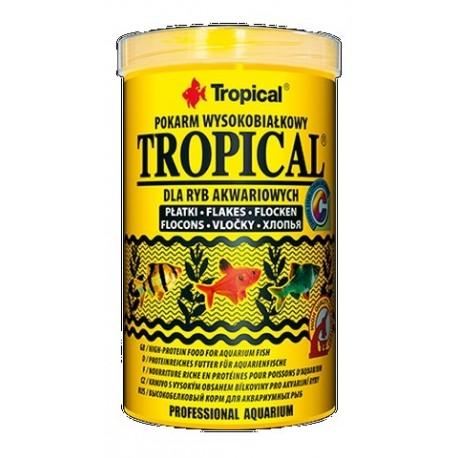 Tropical pokarm wysokobiałkowy dla ryb akwariowych 50g płatki