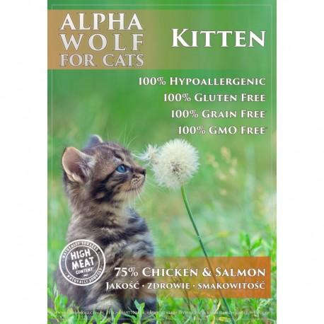 AlphaWolf Kitten KURCZAK 2 kg