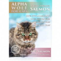 AlphaWolf kot senior- kurczak / łosoś 7,5 kg
