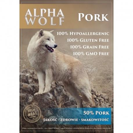 AlphaWolf wieprzowina z batatami i jabłkiem 2 kg