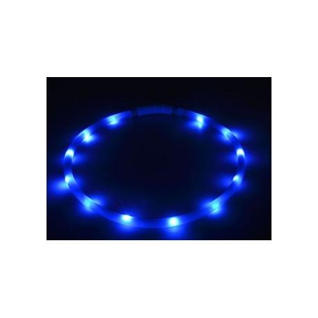 Obroża świecąca LED z USB